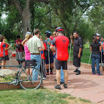 Intro to Cycling Blind Youth Camp