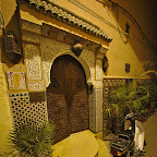 Entrance to our riad (hotel)