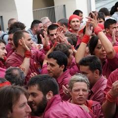 Actuació Festa Major Castellers de Lleida 13-06-15