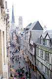 Rouen from the Gros Horologe  (by Richard)