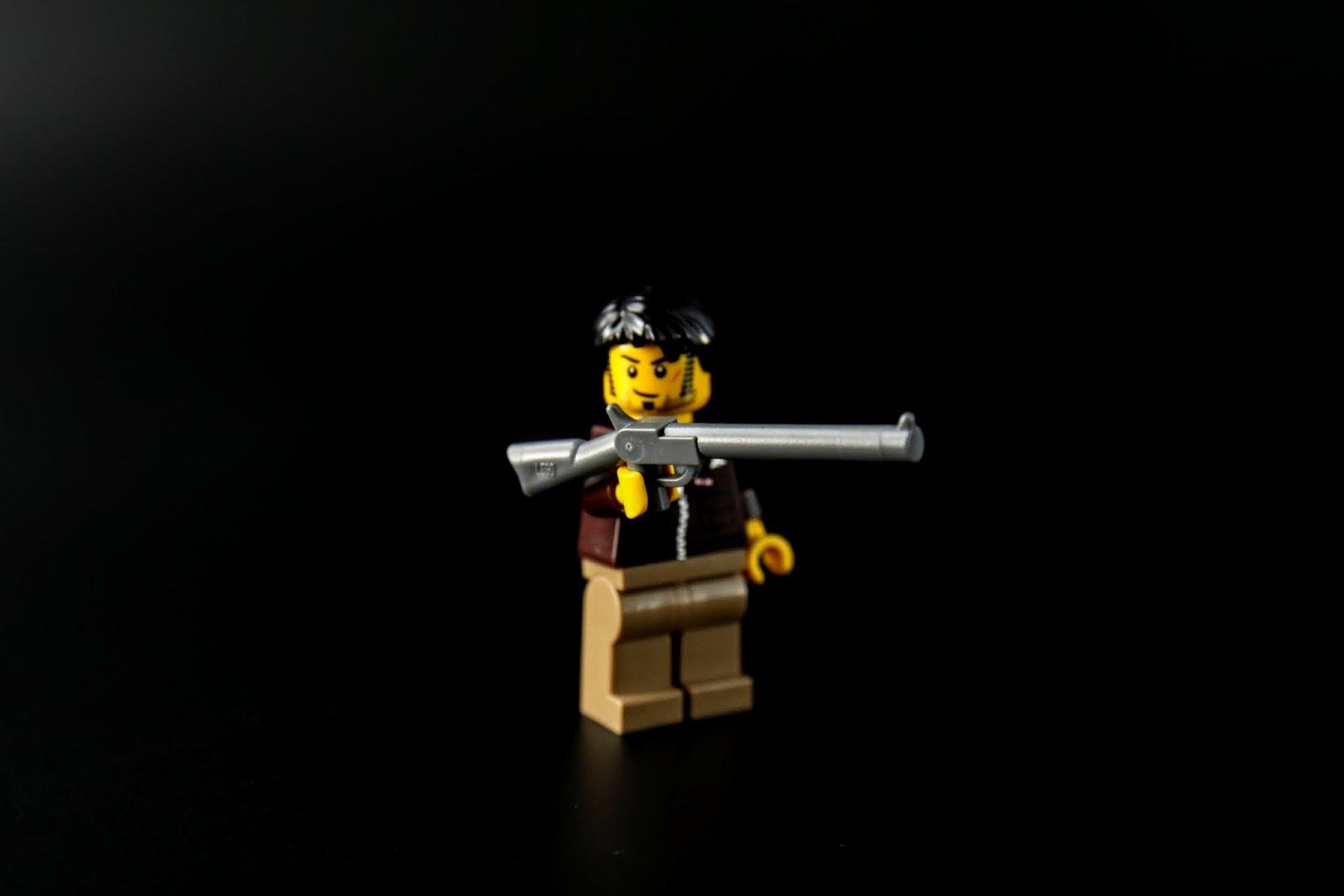 有付一把槍,好大一把槍