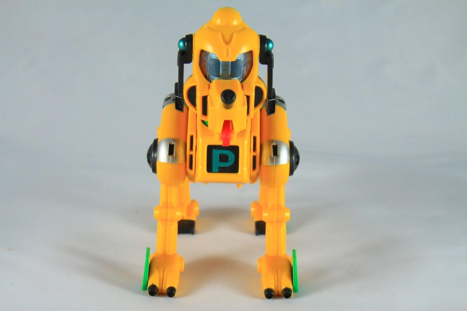 Dash Pluto- 衝刺布魯托 連寵物都有機器人可以開 但G鋼裡風雲再起這匹馬都有機器人了 就別在意了~