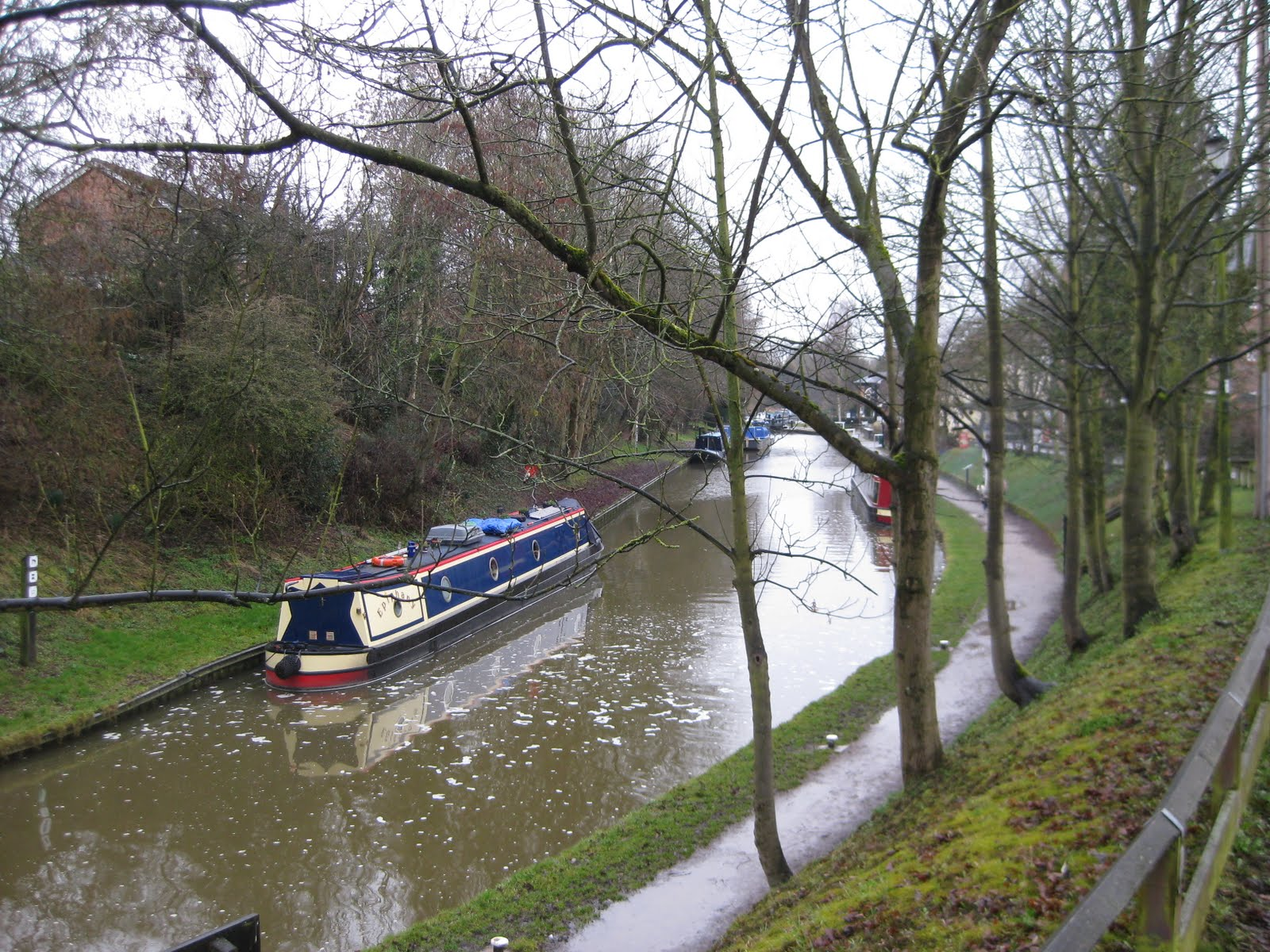 Next trip on a canalboat?