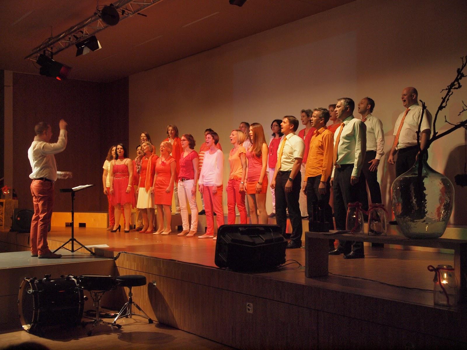 Konzert mit Singing friends