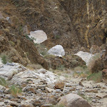 Rockhouse Canyon is a rugged remote part of the Anza Borrego desert