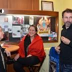 Adeline Stern (exploitante du Cinéma Royal) en compagnie des organisateurs de l'événement Ghislaine Heger et Marcel Müller.