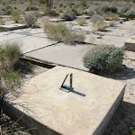 We stumbled upon this old foundation in the middle of Inner Pasture - Anza Borrego