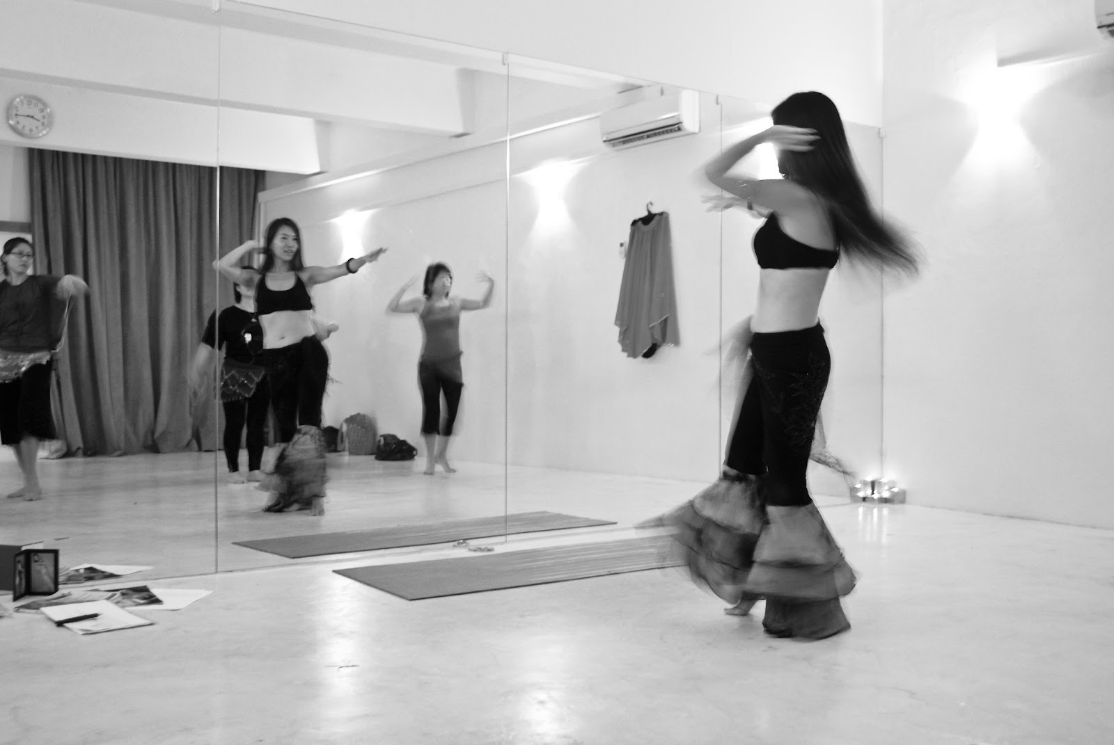 Dance Classes at WasabiYogaStudio Aug' 2010