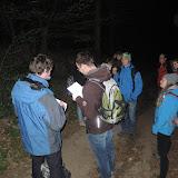 1:05 - po třech hodinách za sebou máme 12 km, a kousek za osadou Dashwood je čas na další obálku