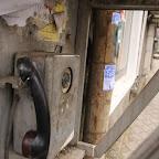 Retro phone booth!