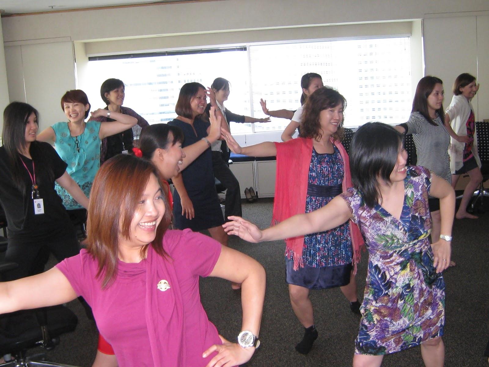 International Women Day'2012 (Part 1)  - Holistic BellyDance Movement Workshop (GSK Ltd)