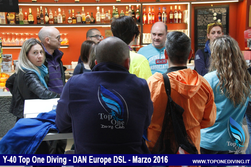 Y-40 Top One Diving - DAN Europe DSL - Marzo 2016
