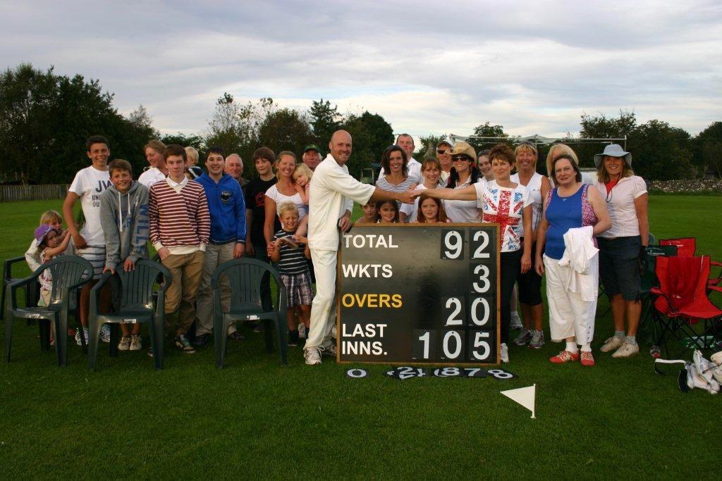 Ladies v Gents Cricket Match 2012