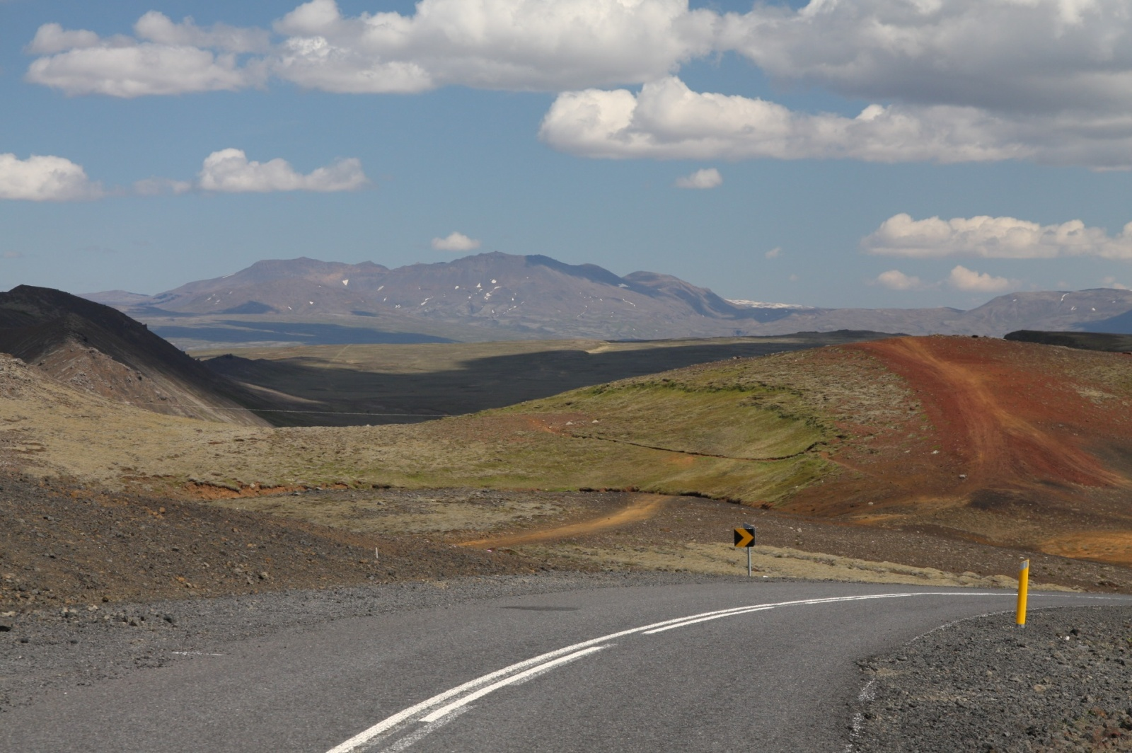 Typical Icelanding landscape