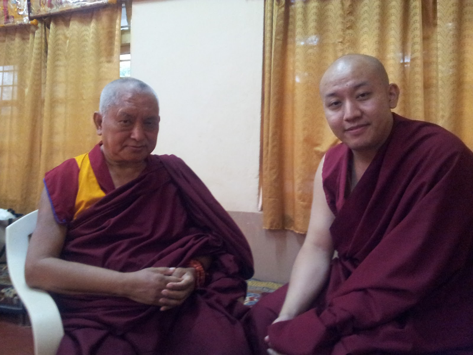 With Zong Rinpoche