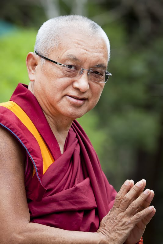 Lama Zopa Rinpoche at Land of Medicine Buddha, CA February 2011