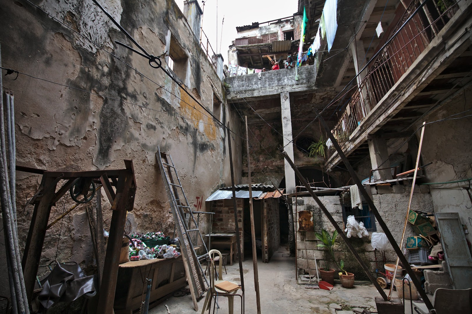 Most buildings in old city are in bad shape