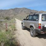 Heading into Oriflamme Canyon