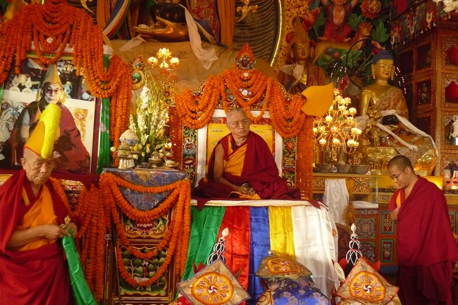 Long Life Puja, Kopan Monastery, December 2008.