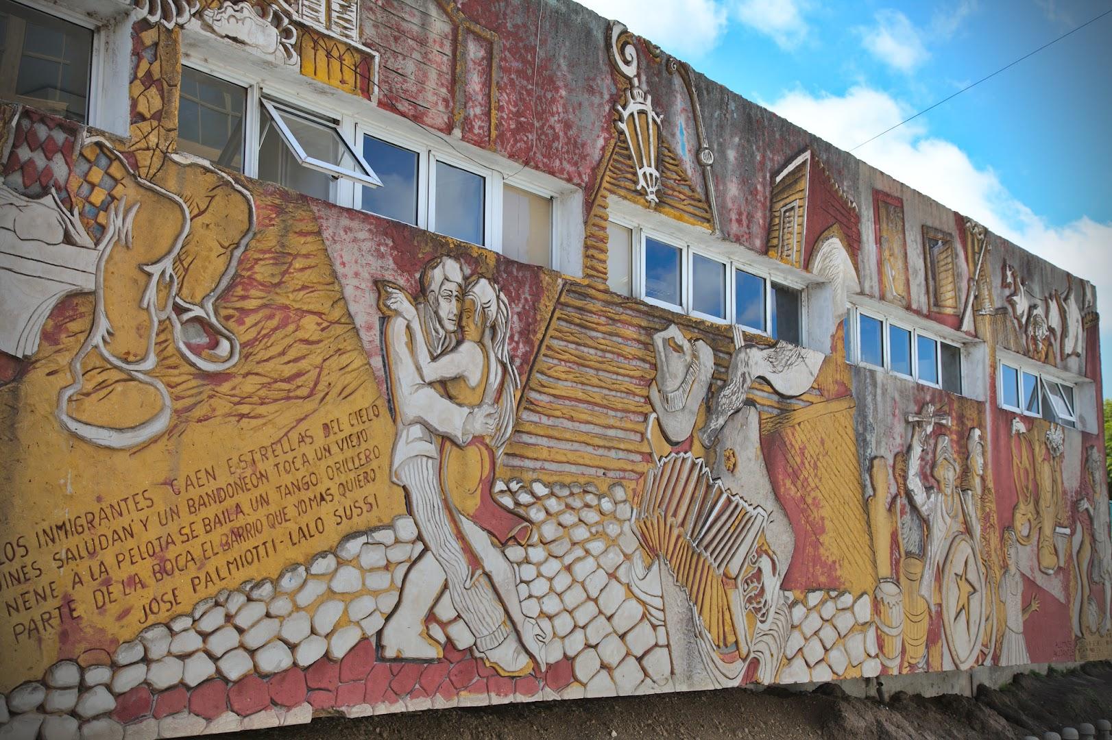 La Boca is home of tango