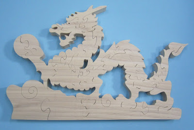 Dragon Puzzle Pattern the the REAL John A. Nelson Poplar