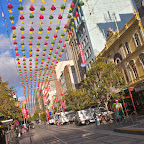 Christmas decorations in Melbourne
