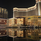 The biggest casino in the world on the reclaimed land of Cotai Strip