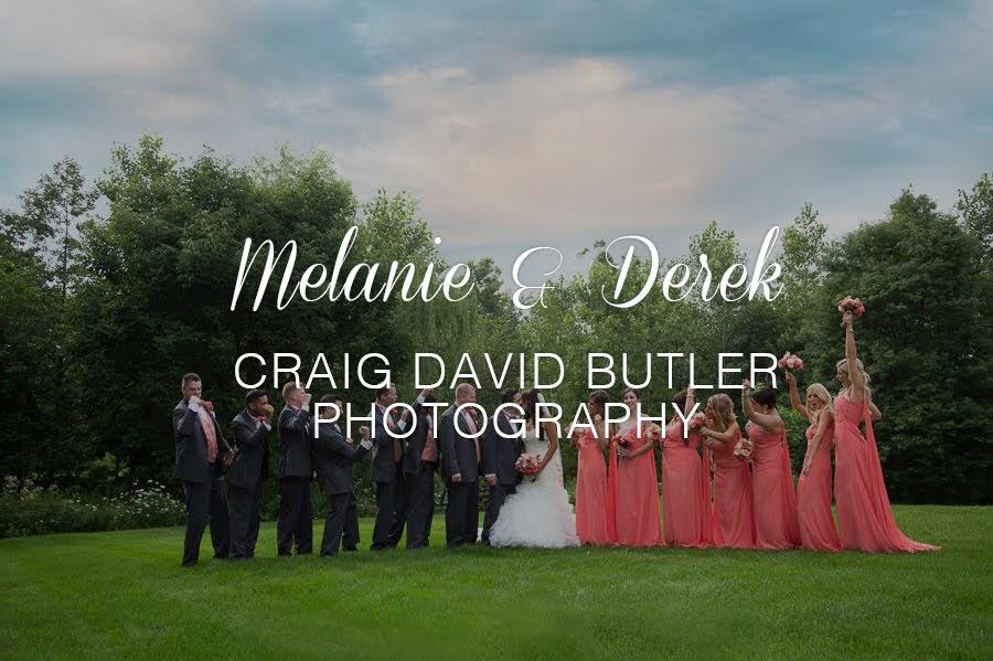 Melanie & Derek Photographed by Craig David Butler