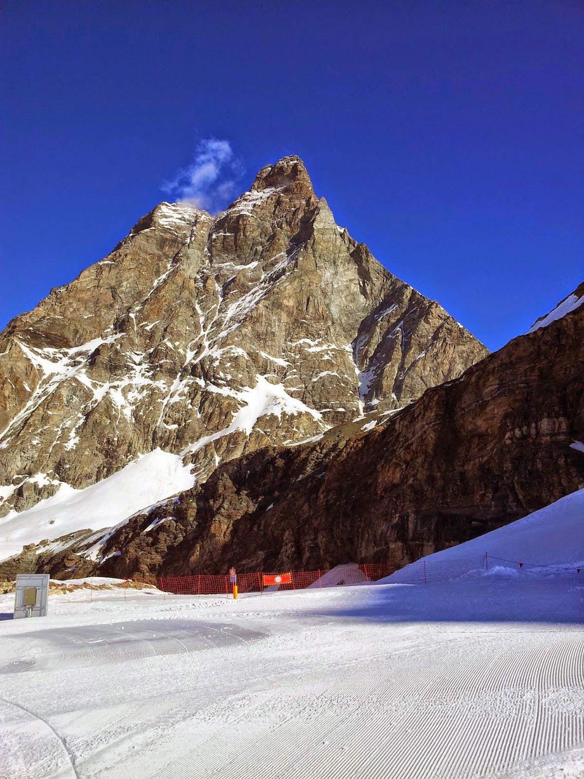 Cervinia and Zermatt . 2014