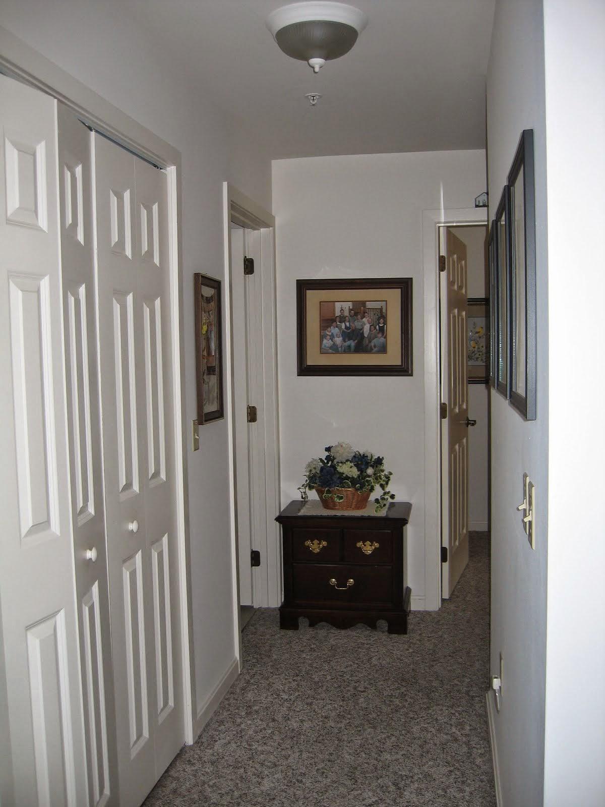 Crest View apartment hallway
