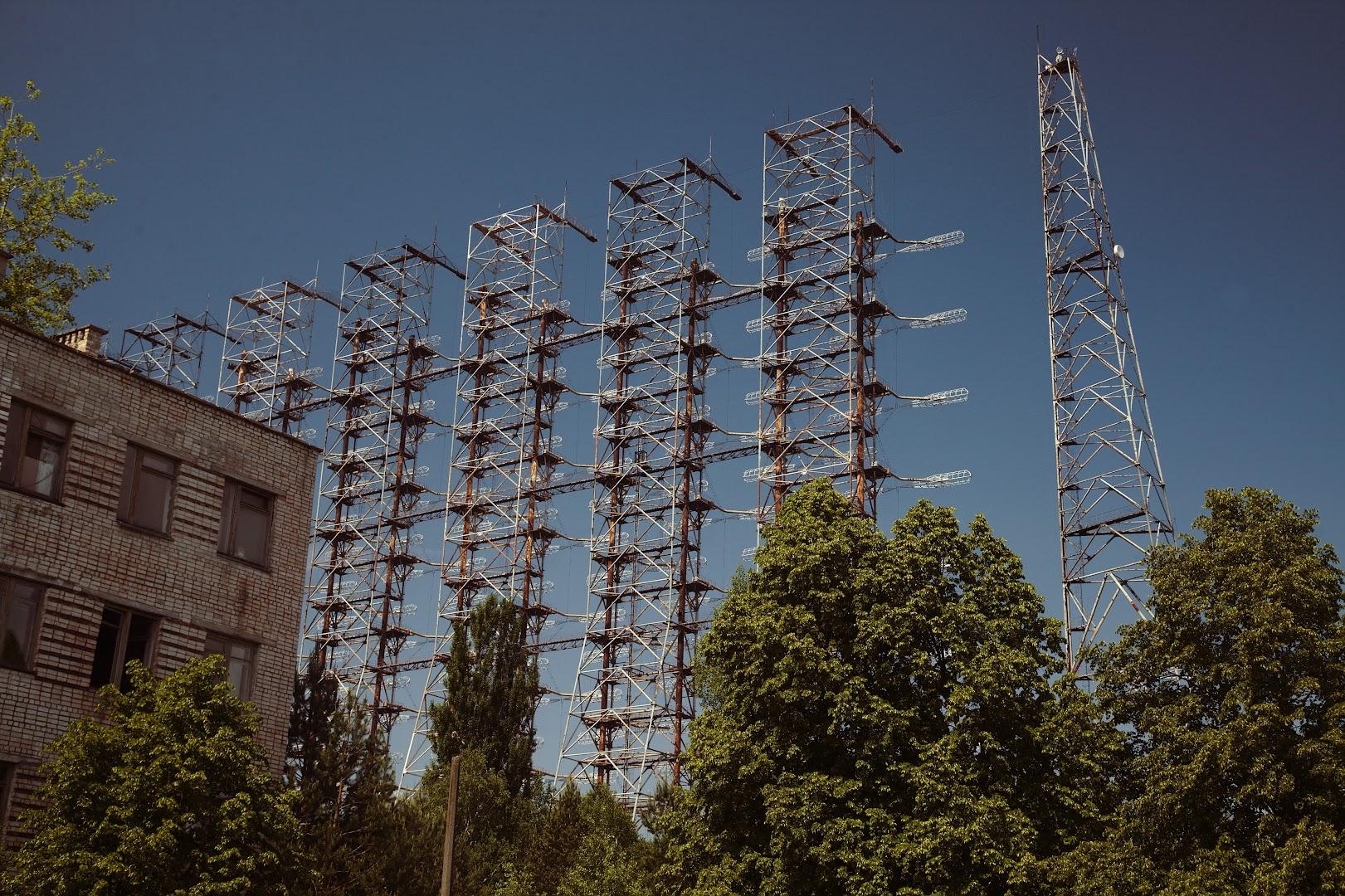 Duga-2 (aka Chernobyl-2) - Soviet transatlantic missile detection grid