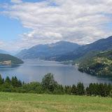 Millstätter See, jezero u kterého leží Döbriach a tábořiště kde probíhal první týden tábora