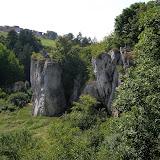 Kolíbky - přírodní skalní amfiteátr, osídlen ve starší době kamenné