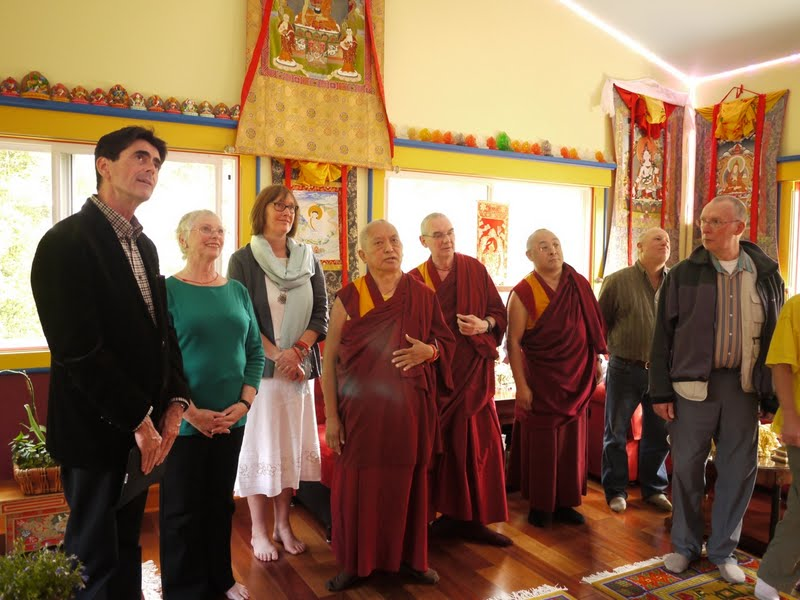 FPMT Board of Directors at Kachoe Dechen Ling