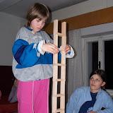 Pokus o stavbu nejvyšší věže z kostek