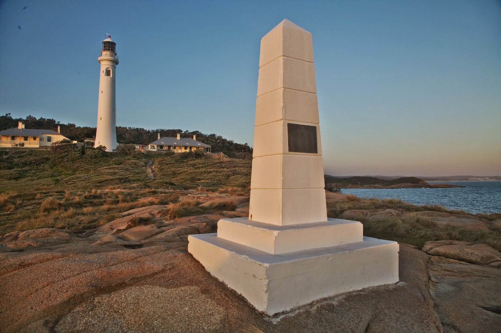 This is the cape that James Cook first saw when searching for a new continent