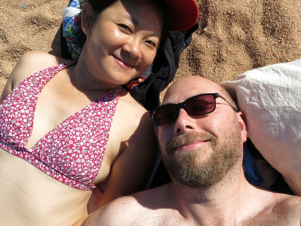 Beach-bums!