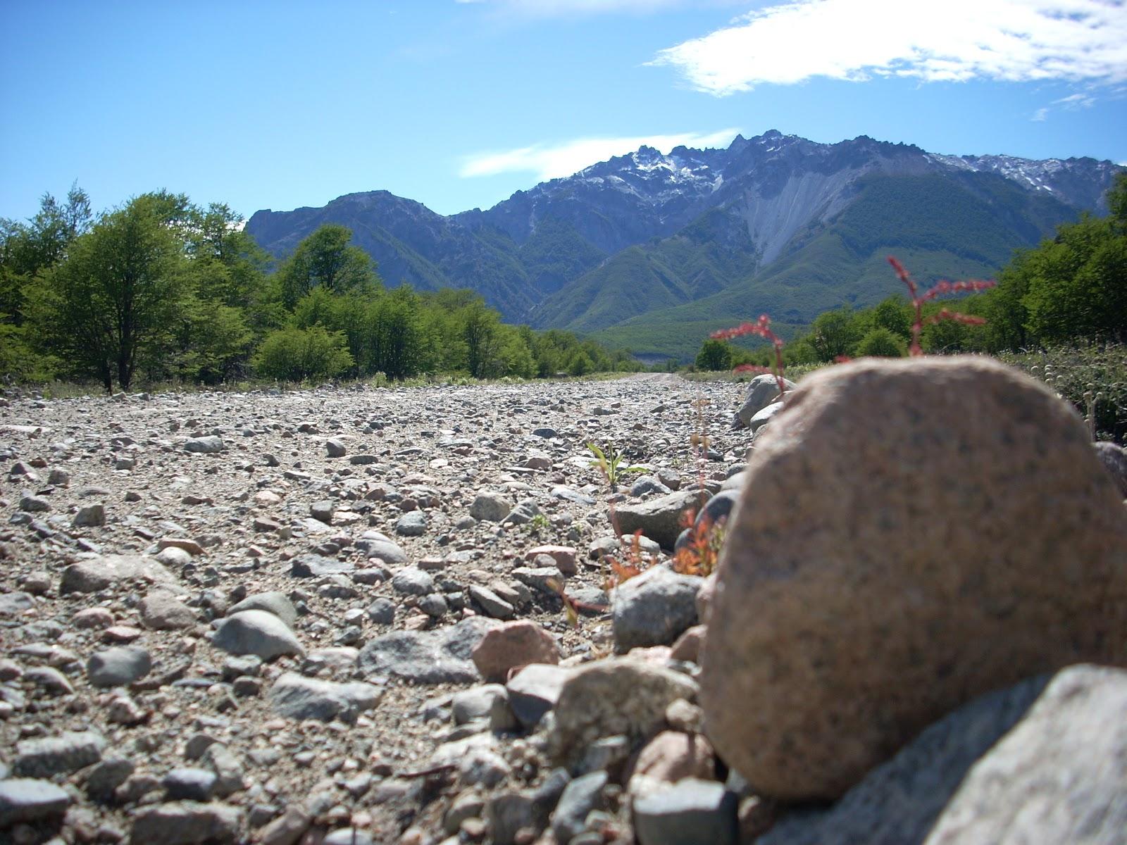 Big loose rocks == no fun for riding