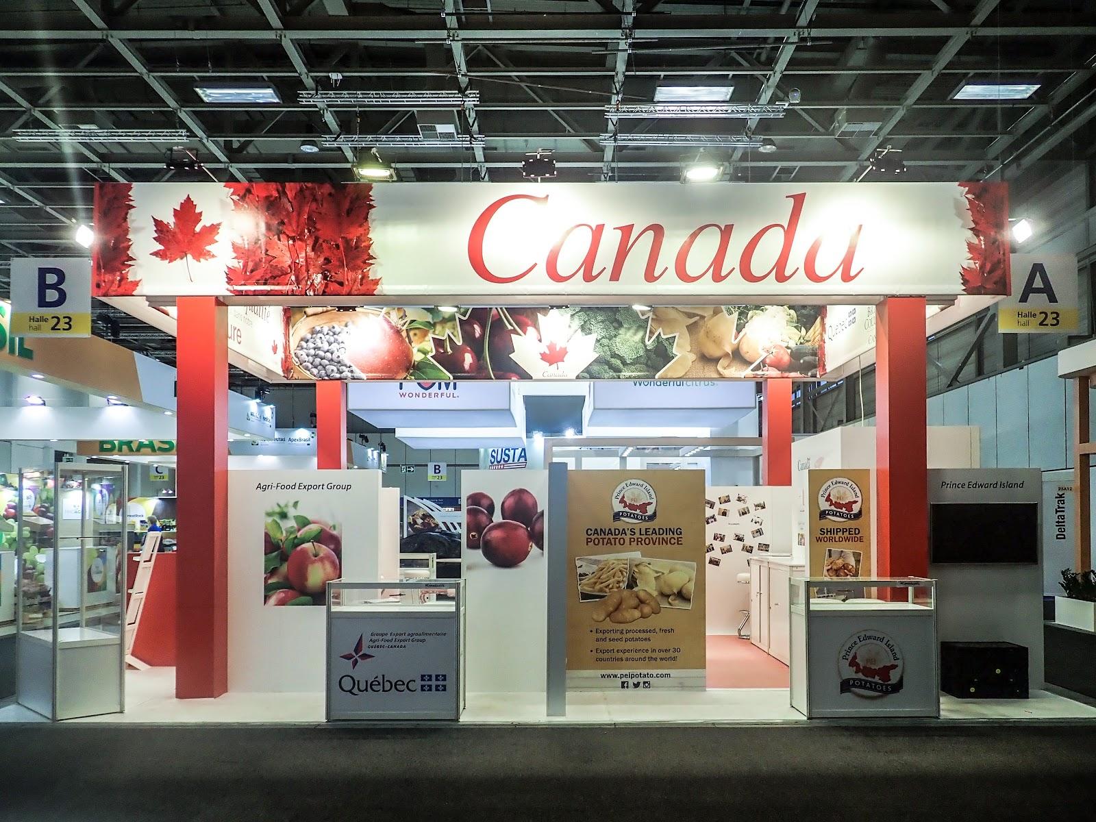 Fruit Logistica, Berlin CANADA 2018