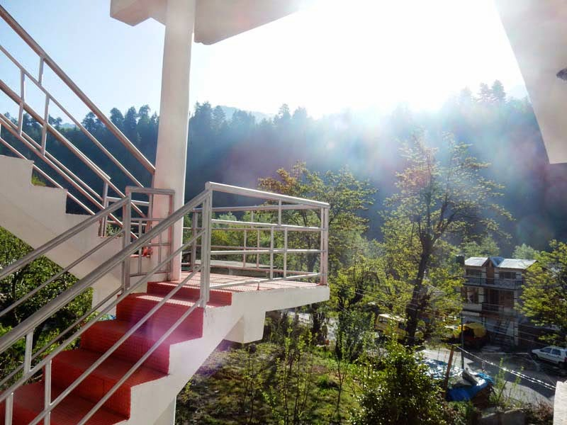Hotel Sunrise Manali views from balcony