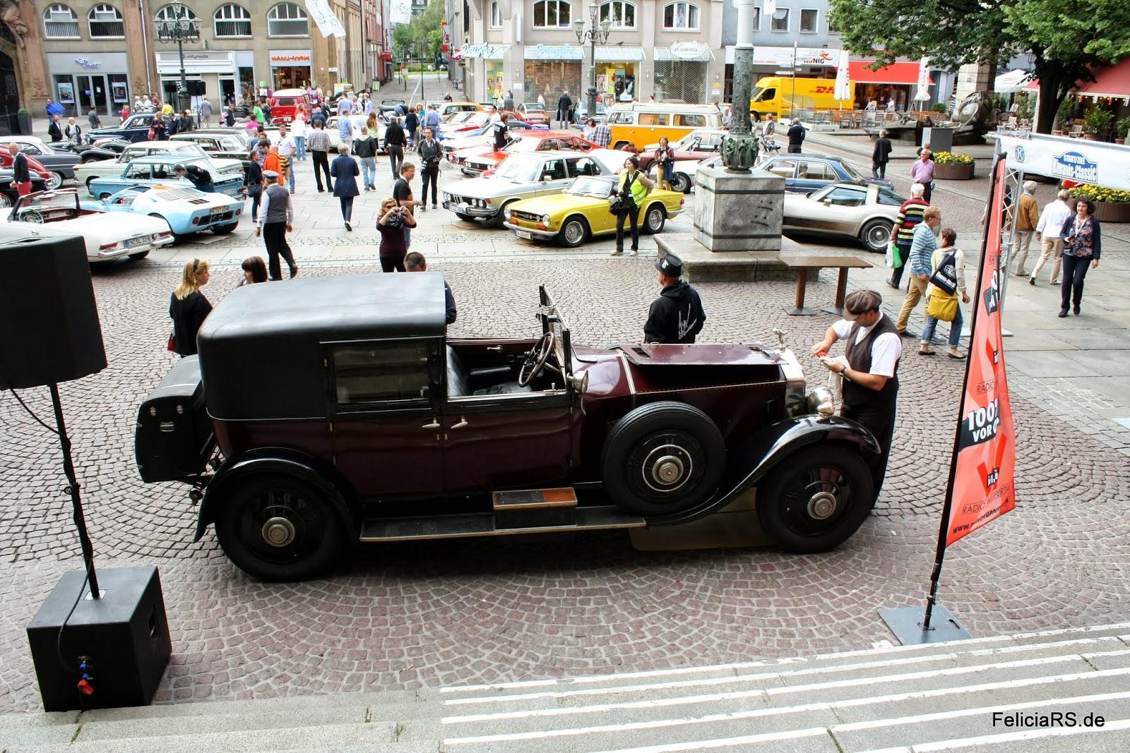 Rolls-Royce Phantom I Sedanca de Ville 1927