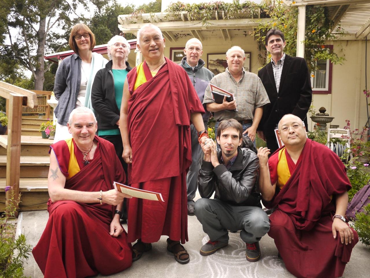 The FPMT Board of Directors in California Sep 2012