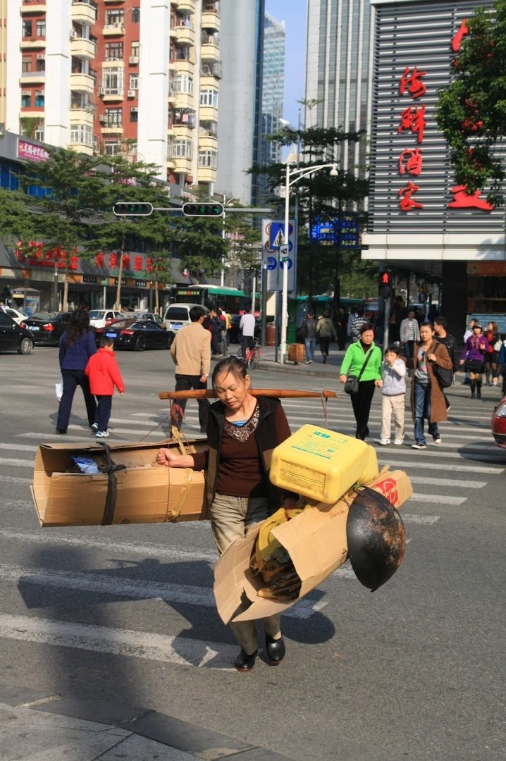 The great city of Shenzhen has grown to 14 million during the last 20 years!