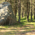 """Prangli, as all of Northern Estonia, is reach with """"travelling"""" granite boulders, brought from the Scandinavia during the last Ice Age"""
