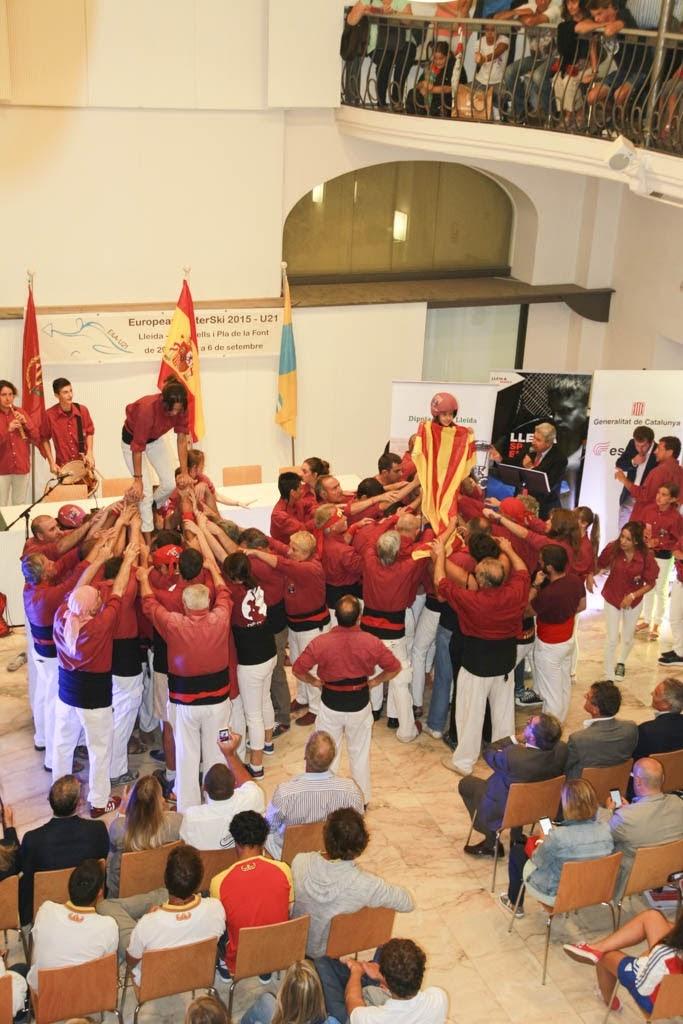 Pilars inauguració Campi...