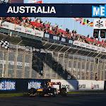 Sebastian Vettel wins 2011 Australian F1 GP