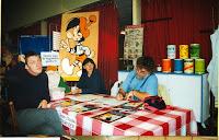 Fête du Livre 17 Jean-Claude Fournier Bénévoles Yves Lepagnol 1999 Cossé
