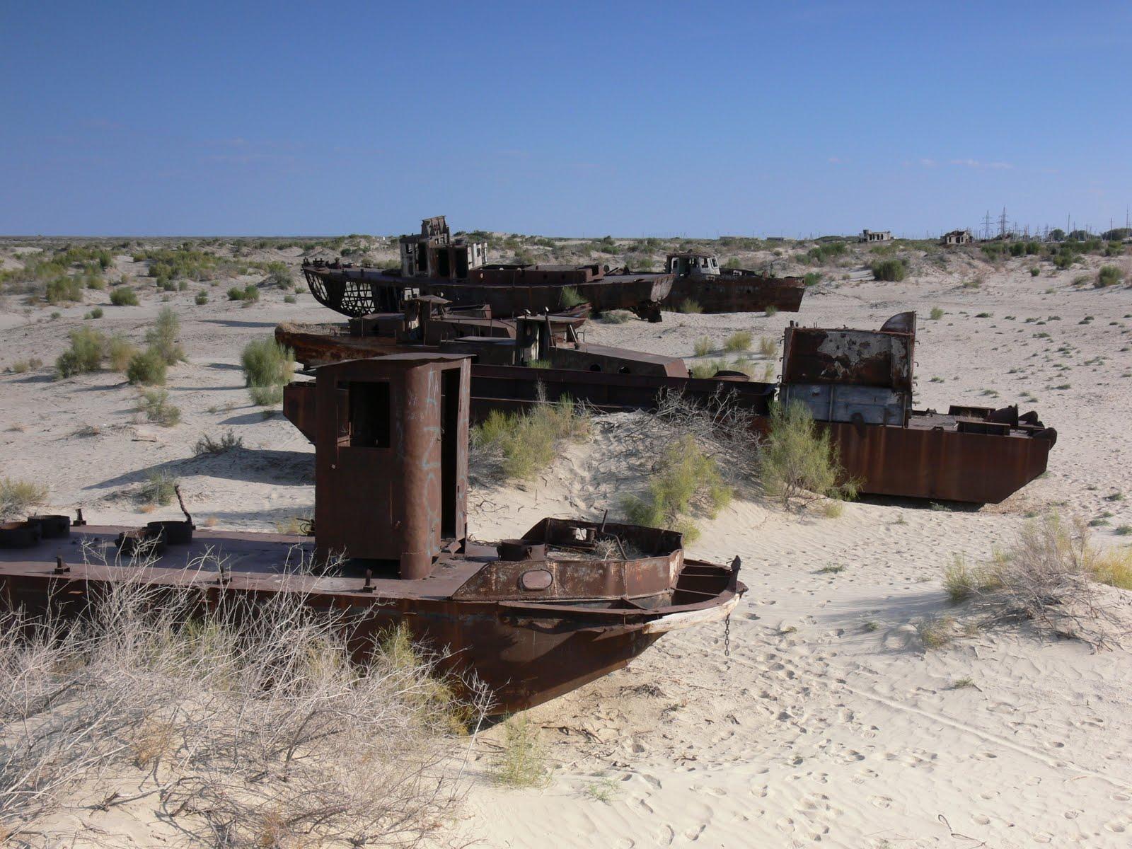 Morze Aralskie, Uzbekistan...