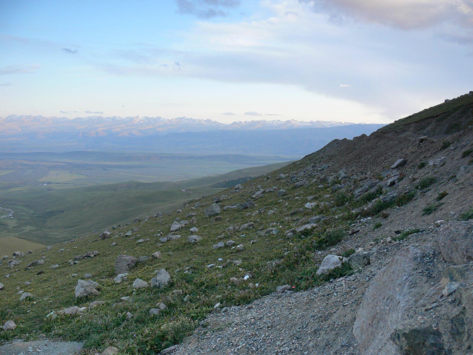 W stronę Tadżykistanu...