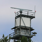 One of the border radars on the Lake Peipus